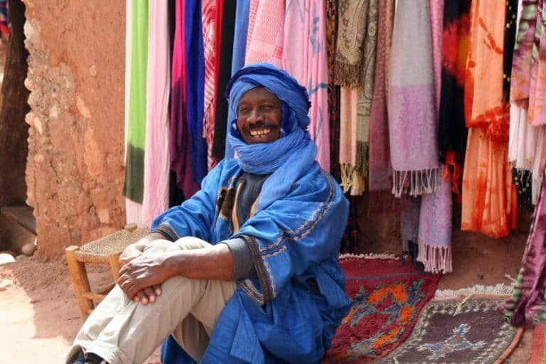 7 Berber man Ouarzazate by Gail Coker Jones
