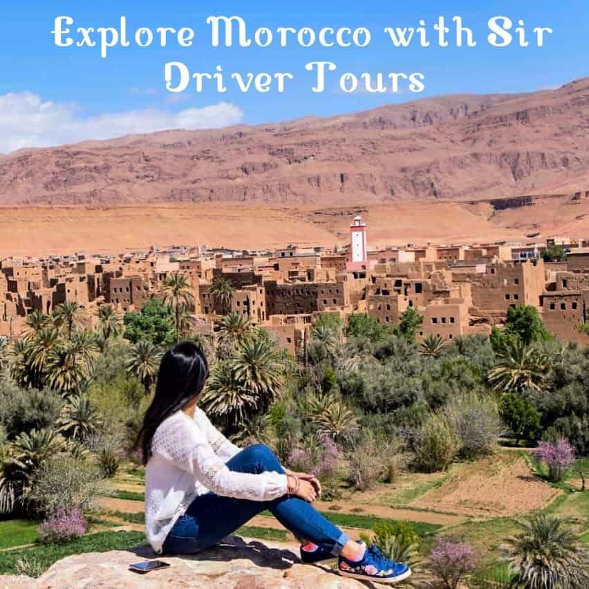 Sit back and relax during your tour of Morocco with your private driver.